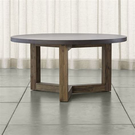 Crate And Barrel Dining Room Tables Enchanting Dining Table With Solid Wood Base Crate And Barrel At Wingsberthouse