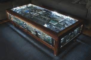 table basse ordinateur