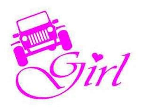 jeep stickers for girls jeep window decal by adsforyou on etsy 7 45