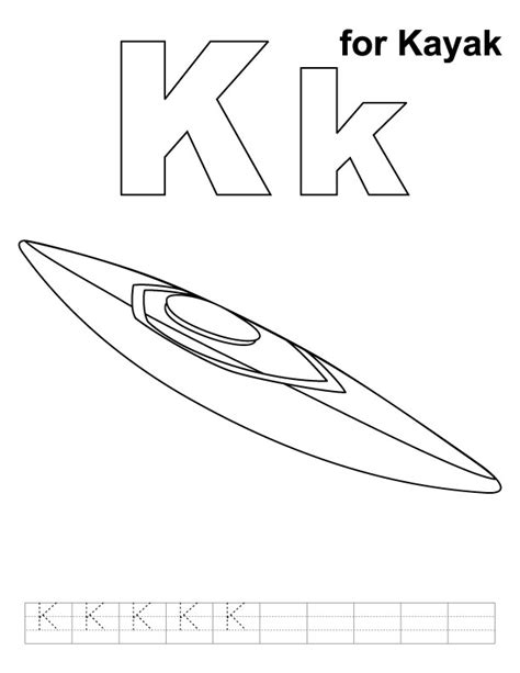 canoe paddle template canoe coloring pages
