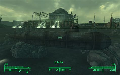 submarine house a submarine house at fallout3 nexus mods and community