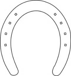 horse shoe outline clip art at clker com vector clip art