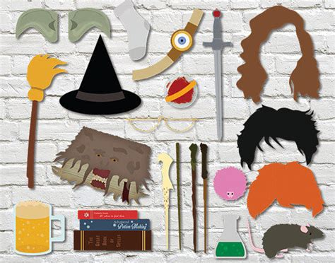 printable harry potter photo booth props harry potter photobooth props wizard from