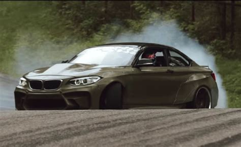 Bmw 2 Series Hp by F22 Drift Car Is An 820 Hp Ls V8 Inside The Bmw 2 Series