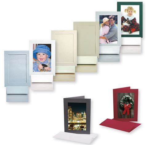 Photo Insert Cards - tap photo cards cardboard 4x6 insert presentation card