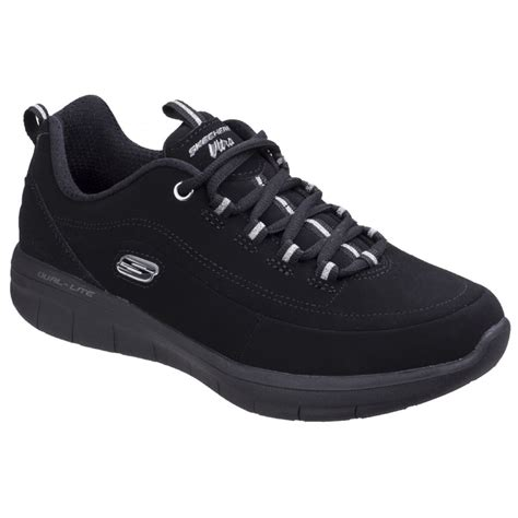 Skechers Synergy 2 0 skechers womens black synergy 2 0 side step shoes sk12364
