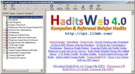 Software Syarah Kitab Riyadhus Shalihin ibadah haditsweb 4 0