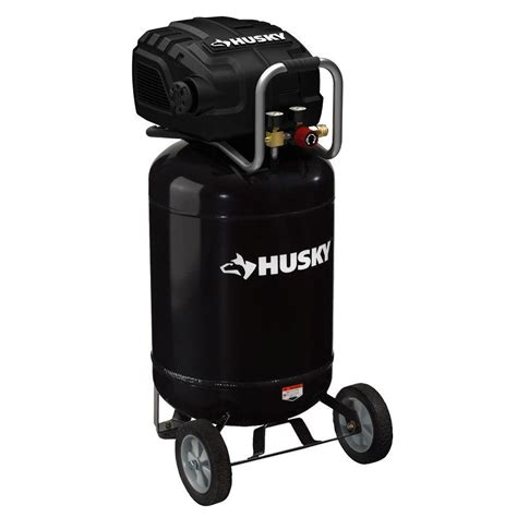 husky 20 gal portable electric air compressor f2s20vwd the home depot