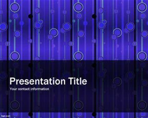 pattern energy presentation free elegant powerpoint template ppt