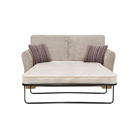 jasmine  seater sofa bed  deluxe mattress  silver