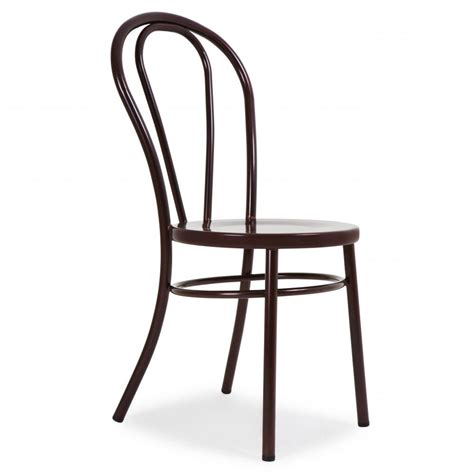 thonet style red copper thonet style retro bentwood steel chair thonet style   home uk