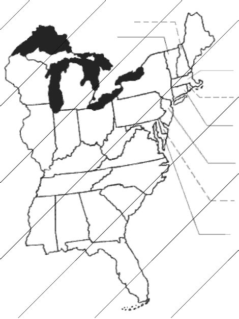 blank map of states east of the mississippi river