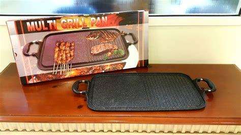 Alat Pemanggang Burger jual multi grill pan alat panggang serba guna raja