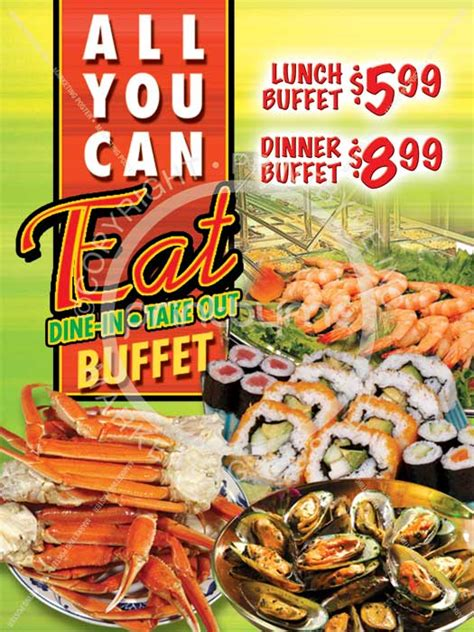 all you can eat buffet in printbymela