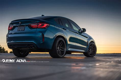 x6m bmw blue bmw x6m adv005 cs wheels