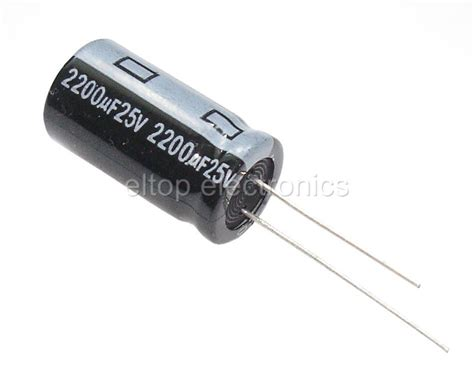 capacitors getting 10x 2200uf 25v radial electrolytic capacitor 2200uf 25v ebay