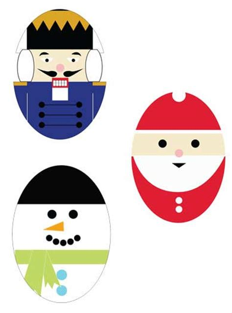 free printable christmas decoration ideas 7 best images of printable christmas tree ornaments free