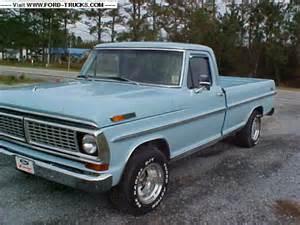 70 Ford F100 1970 Ford F100 4x2 70 F100