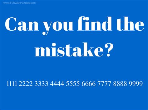 Find By Picture Can You Find The Mistake Picture Puzzles For With
