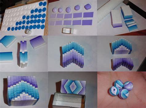 tutorial online html polymer clay gradient beads tutorial