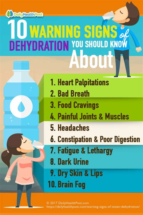 dehydration signs water dehydration 10 warning signs you may be suffering