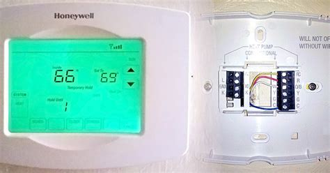 honeywell thermostat red light how to add c wire to thermostat