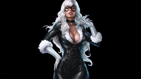 The Black Cat Marvel Comics M008 Iphone 5 5s Se Casing Custom Hardc black cat hd wallpaper and background image 1920x1080 id 507700