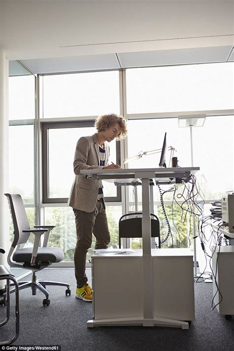 Standing Desk Research by Research Finds That Workers Who Use Sit Stand Desks Are More Energised And Productive Daily