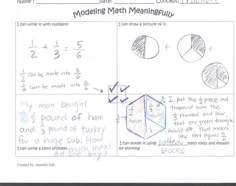 from models to numbers making connections in mathematics poster proofs