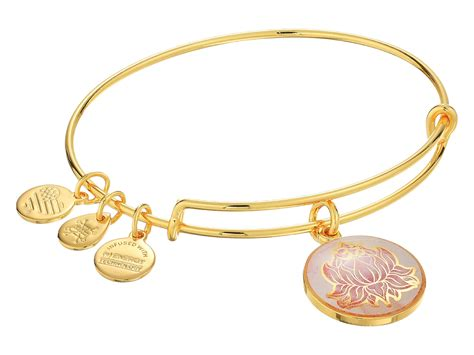 alex and ani bracelet alex and ani infusion lotus peace petals bracelet in