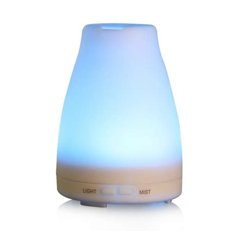H09 Humidifier Essential Aromatherapy Diffuser Ultrasonic Cool 100ml aromatherapy essential diffuser portable ultrasonic cool mist aroma humidifier with