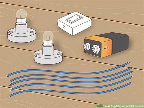 parallel circuits materials how to make a parallel circuit with pictures wikihow