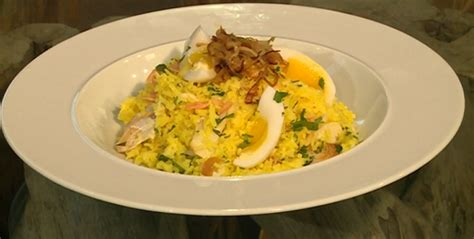 Berry Chicken Recipes Saturday Kitchen by Berry Smoked Salmon And Haddock Kedgeree Recipe On