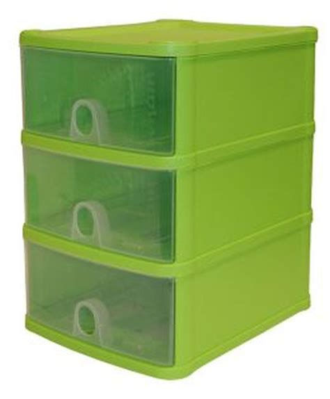 Plastic Storage Drawer Unit by Handi 3 Drawer Plastic Storage Unit Lime Buy At