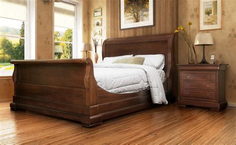 bedroom gorgeous king sleigh bed  beautiful colors