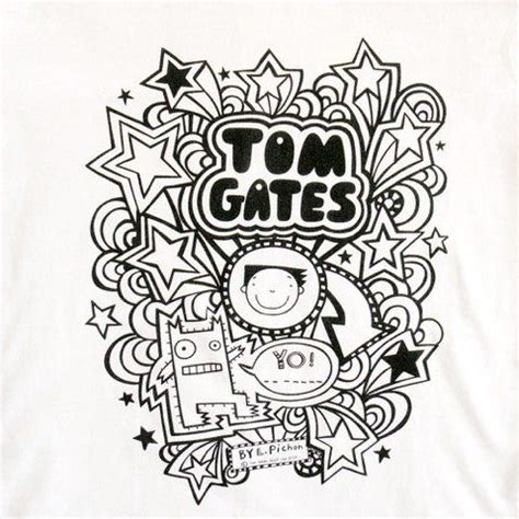 how to draw a tom gates doodles tom gates quot yo quot childrens sleeve t shirt