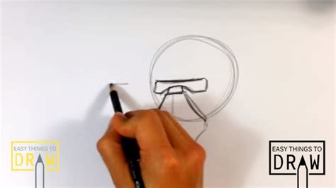 Easy Things To Draw From Wars by How To Draw Kylo Ren Helmet From Wars The
