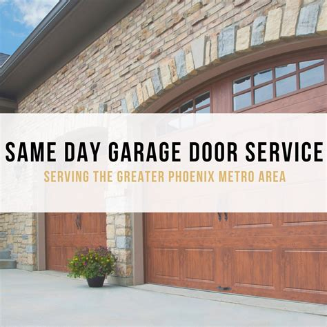 Same Day Garage Door Repair Affordable Garage Door Repair Company Headquartered In Gilbert Az