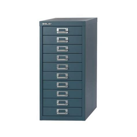 Bisley 10 Drawer Filing Cabinet Bisley Soho H590mm Multi Drawer 10 Steel Filing Cabinet H2910nl 74