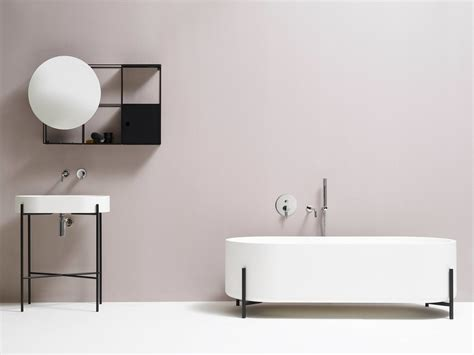 minimalist bathroom fixtures collection by ex t