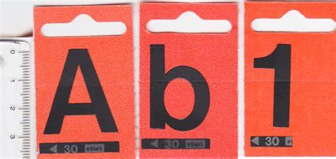 Klebebuchstaben 50mm by Klebebuchstaben