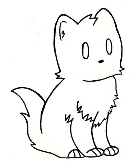 simple drawing simple kitten drawing drawings nocturnal