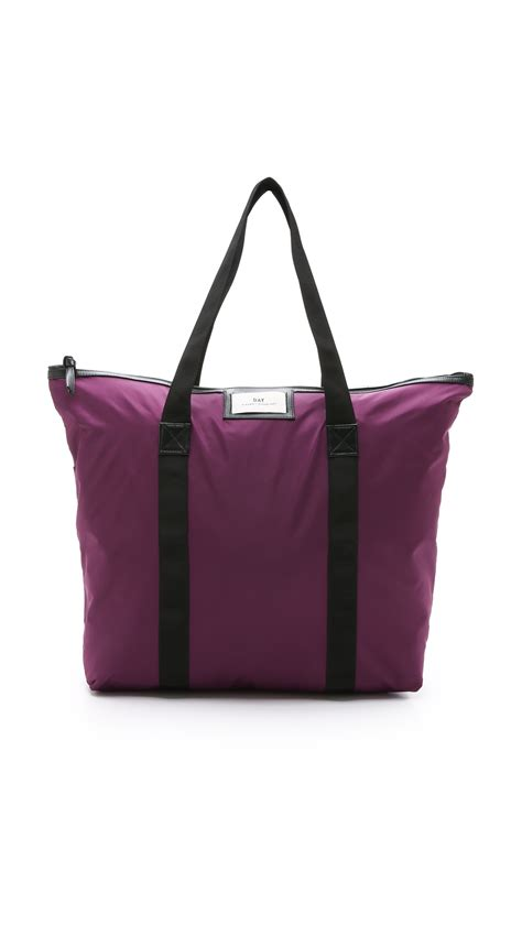 day bags day birger et mikkelsen day gweneth bag purple glow in