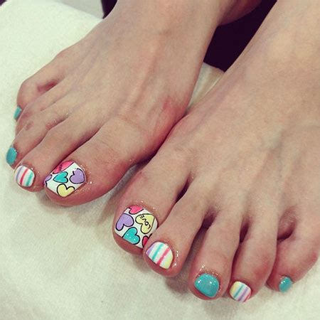 Cute Toe Nail Designs 2014 | cute valentine s day toe nail art designs ideas 2014