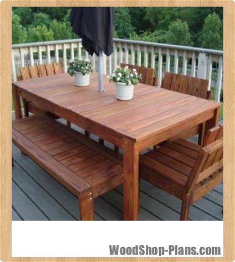 woodwork woodworking plans outdoor tables  plans