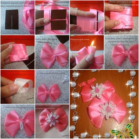ideas for crafts to make how to make beginner flower bow step by step diy tutorial