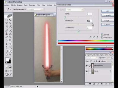 adobe photoshop cs tutorial youtube tutorial sable laser adobe photoshop cs 1 parte 2 youtube