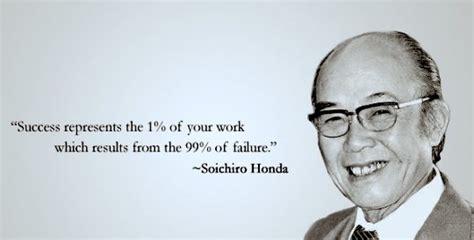 40 motivational soichiro honda quotes