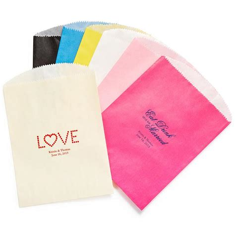wedding gifts personalized gourmet favor bag 1181984