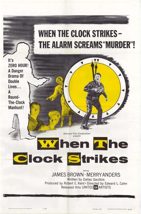 when the clock struck when the clock strikes movie posters from movie poster shop